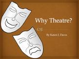 """""""Why Theatre"""" Presentation for Drama/Theatre/Theater Classes"""