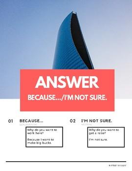 """Why do you"" Present Tense Pattern English (w Korean translation)"