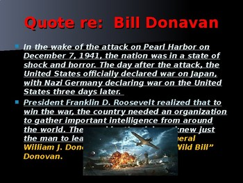 """Wild Bill"" Donovan – Head of the OSS and Founder of the CIA"