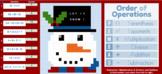 """Winter"" Order of Operations - Pixel Art"