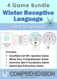 Winter Receptive Language BUNDLE