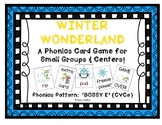 """Winter Wonderland!"" ~ A Winter-Themed 'BOSSY E' Phonics Game (CVCe, Silent e)"