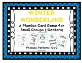 """Winter Wonderland!"" ~ A Winter-Themed CVC Phonics Game w/Snowmen & Penguins"