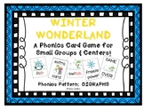 """Winter Wonderland!"" ~ A Winter-Themed DIGRAPH Phonics Gam"