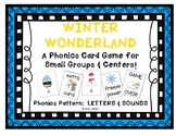 """Winter Wonderland!"" ~ A Winter-Themed LETTER/SOUND Phonic"