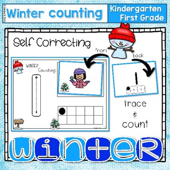 ~Winter trace and count mat 1-10~  Self Correcting