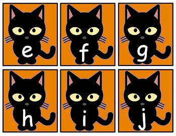 """""""Witch Letter is Which?"""" Alphabet Matching Game"""