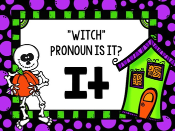 """Witch"" Pronoun is it?"
