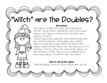 """""""Witch"""" are the doubles and doubles +1 bundle"""