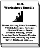 """Wolf Hollow"" by Lauren Wolk UDL Worksheet Bundle (21 Total)"