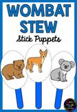 Wombat Stew Story Puppets