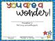 #Wonder Celebrating Students