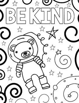 quot Wonder quot Outer Space Coloring Pages