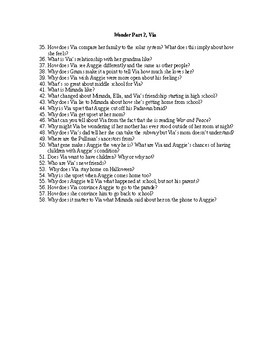 """""""Wonder"""" by R.J. Palacio Discussion Questions"""