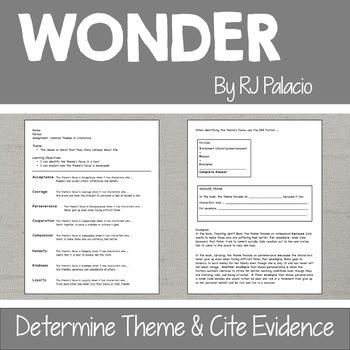 """Wonder"" by RJ Palacio: Complete Unit"