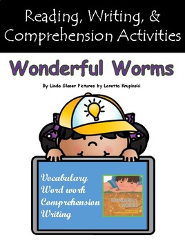 """""""Wonderful Worms"""" Guided Reading Program Activities"""