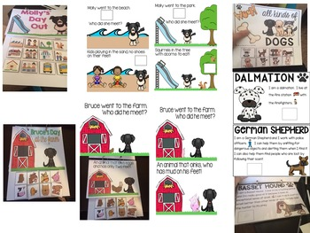 """""""Woof!"""" A dog-themed speech and language unit"""