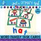 ~*Word Family Task Cards - ET