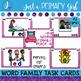 ~*Word Family Task Cards - Short Vowel E