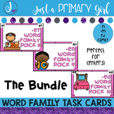 ~*Word Family Task Cards - Short Vowel E