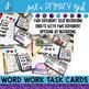 ~*Word Work Task Cards