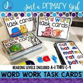 Word Ladders / Word Work Task Cards 1