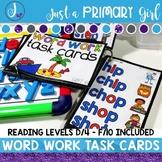Word Ladders / Word Work Task Cards 2
