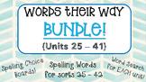 {Words Their Way} BUNDLE PACK!