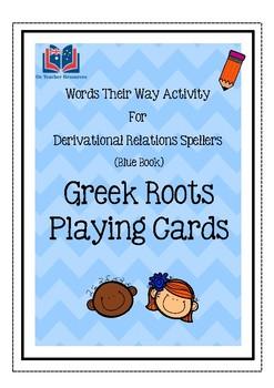 Words Their Way Greek Root Cards