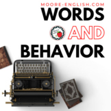 """Words and Behavior"" Analysis Questions"
