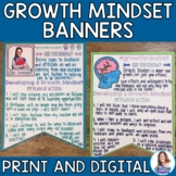 Growth Mindset Banners and Mini-Research Project