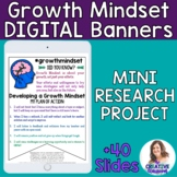 Growth Mindset Digital Banners and Mini-Research Project
