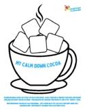 Mindfulness & Yoga   {Worksheet} Calm Down Cocoa