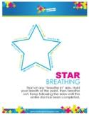 Mindfulness & Yoga   {Worksheet} Star Breathing