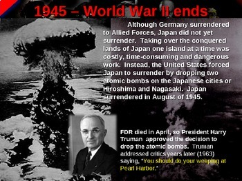 . World War II (TWO) (Part 4 of 6) Pacific Theater VISUAL, TEXTUAL & ENGAGING