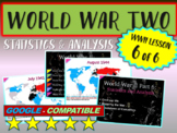 . World War II (TWO) (Part 6 of 6) Statistics & Analysis VISUALS, TEXTS & MORE