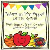 """Worm in My Apple!"" Uppercase/Lowercase Letter Identificat"