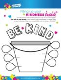 Mindfulness & Yoga   {Worksheet} Fill Your Kindness Bucket