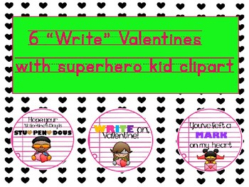 """""""Write"""" Valentines"""