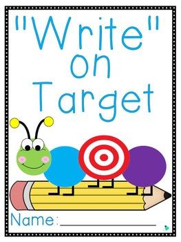"""Write"" on Target Journal- 2-3"