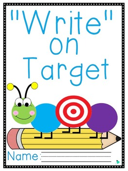 """Write"" on Target Journal- 2nd Grade"