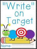 """""""Write"""" on Target Journal- K-1"""