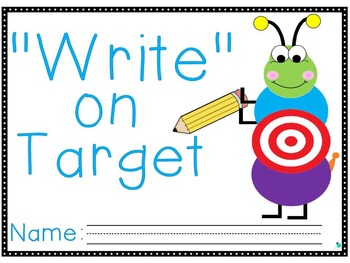 """Write"" on Target Journal- Mid-Year 1st Grade"