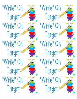 """Write"" on Target Labels"