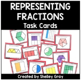 """Write the Fractions"" Task Cards 