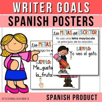{ Writer Goals } Las Metas del Escritor - Spanish Edition