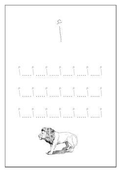 نسخ الحروف العربية من أ حتى ذ  || Writing Arabic Alphabets from أ to ذ