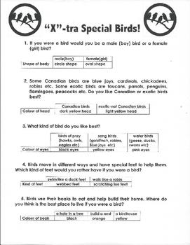 (X) Xtra Special Birds!
