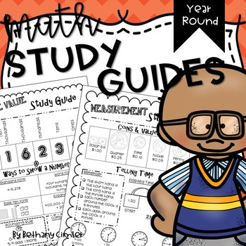 Math Study Guides   Year Round