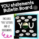 """YOU"" Statements Bulletin Board Set"